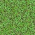 Clover Field Seamless Pattern