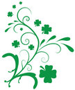 Clover Flourish Royalty Free Stock Photo