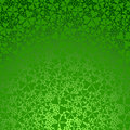Clover gradient background. Royalty Free Stock Images