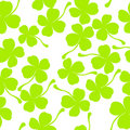 Clover leaves Stock Images
