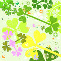 Clover pattern Royalty Free Stock Photos