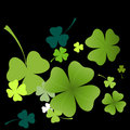Clover pattern Royalty Free Stock Images