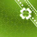 Clover pattern Stock Images