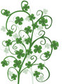 Clovers for Saint Patrick's Day Royalty Free Stock Image