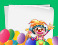 Clown Banner Royalty Free Stock Photo
