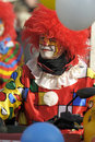 Clown at carnival parade Royalty Free Stock Photo
