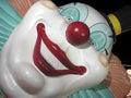 Clown de Vegas Images libres de droits
