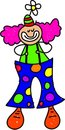 Clown kid Stock Photography