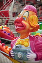 Clown luna park camera toy Royalty Free Stock Photo