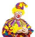 Clown Makes Balloon Animal