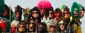 Clown mask. Royalty Free Stock Photo