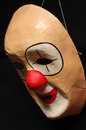 Clown mask paper Royalty Free Stock Photo