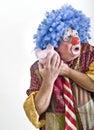 Clown piggybank Stock Images
