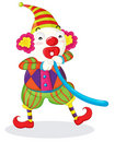 Clown series Royalty Free Stock Image