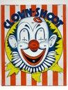 Clown Shoot Target Game Toy
