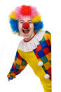 Clown smiling Stock Photos