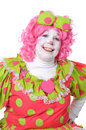 Clown Smiling Royalty Free Stock Photos
