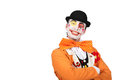 Clown smiling Royalty Free Stock Photo