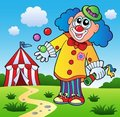 Clown theme picture 5 Stock Photo