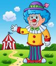 Clown theme picture 9 Stock Photo
