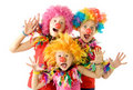 Clowns Stock Image