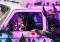Clowns entertain Royalty Free Stock Photo