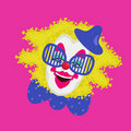 Clowns smile Stock Photos