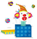 Clownserie Lizenzfreie Stockbilder
