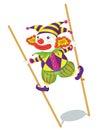 Clownserie Royaltyfri Fotografi