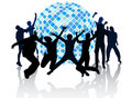Club de disco Image stock