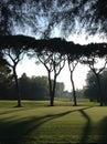 Club de golf de venecia Foto de archivo libre de regalías