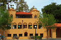 Clubhouse old union at standford university california Stock Photography