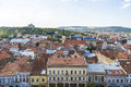 Cluj napoca city beautiful historical building in romania Royalty Free Stock Images