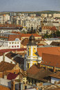 Cluj napoca city beautiful historical building in romania Stock Photos