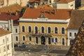 Cluj napoca city overview of romania Royalty Free Stock Photo