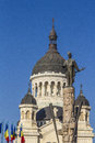 Cluj napoca city overview of romania Stock Photography