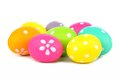 Cluster of Easter eggs Royalty Free Stock Photo