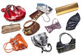 Clutches and bags Royalty Free Stock Photo
