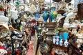 Neporiadok haraburdu obchod na horná riadok antický trh