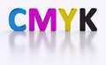 CMYK letter four process color printing