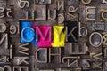 Cmyk Royalty Free Stock Photo