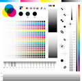 Cmyk Print utilities Royalty Free Stock Photography