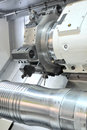 CNC-lathe Stock Photography