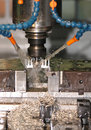 Cnc machine Stock Photo
