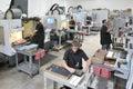 CNC Machine Shop Royalty Free Stock Photo