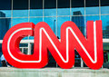 Cnn centrum in atlanta Royalty-vrije Stock Afbeelding