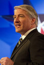 CNN's John King at GOP Presidential Debate 2012 Stock Images