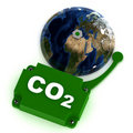 Co2 Eco Bell Royalty Free Stock Images