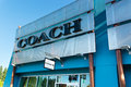 Coach outlet store at seattle premium outlets Royalty Free Stock Photography