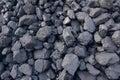 Coal cinder Royalty Free Stock Photo